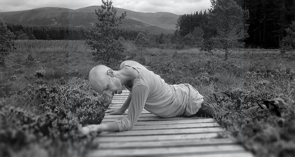 Uath Lochans. dancer Marc Brew - - directed by Simon Fildes and Katrina McPherson